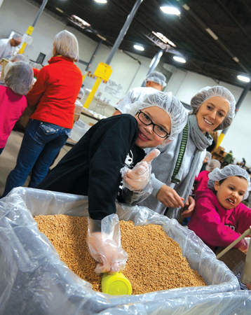 Kids Against Hunger - Luther in Plymouth