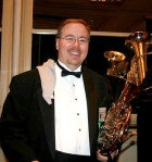 Pre-concert at the Midwest Convention 2008 with the Minnesota Symphonic Winds