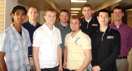 St. Cloud State mechanical Engineering students