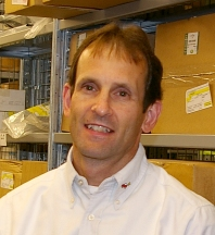 Mike Prok, parts manager, Jaguar Land Rover Minneapolis