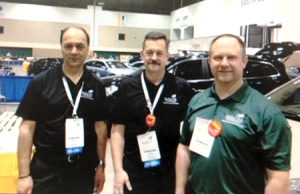 Tim VanKempen with GM training committee members