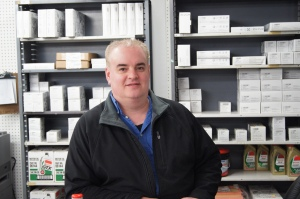 Parts Manager Jon Eidsness brings 20 years of experience from Burnsville.