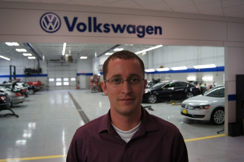 Brookdale VW Service Manager Brett Baird started as a service advisor in 2004.  He said VW customers are incredibly loyal and dealer staff members can build relationships with them.