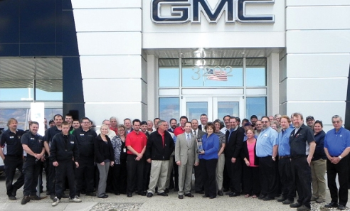 Family Buick GMC Dealer of the Year