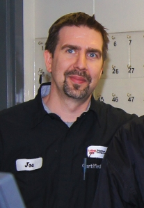 Hudson Technician Joe Fritts