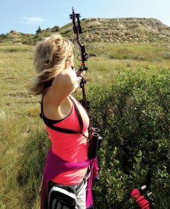 Inclines in Medora, N.D. make shooting more difficult.