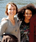 Symone Wilson, right, and her mother, Cathy.