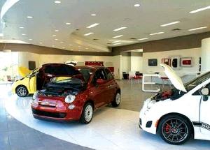 Fiat interior design