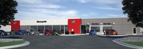 New Fiat store