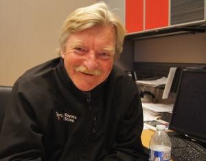Service director John Kendall enjoys a challenge.
