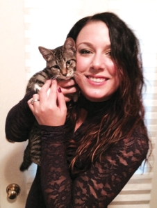 Ashley Tuttle and her new cat