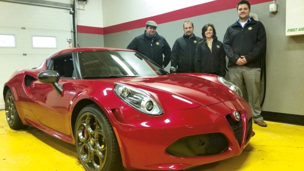 Alfa Romeo brand entrance - Minnesota