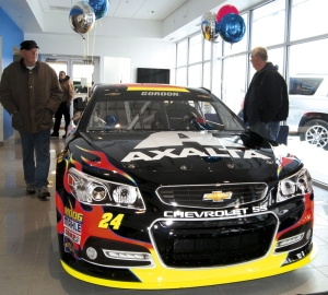 NASCAR machine at Hudson Chev