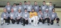 Luther hockey team - 2014