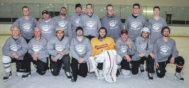 Luther hockey team - 2014