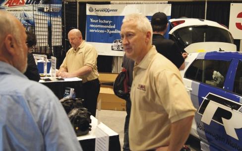 Steve Miller, Brookdale Toyota service manager