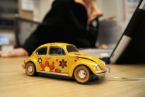 VW Beetle mouse