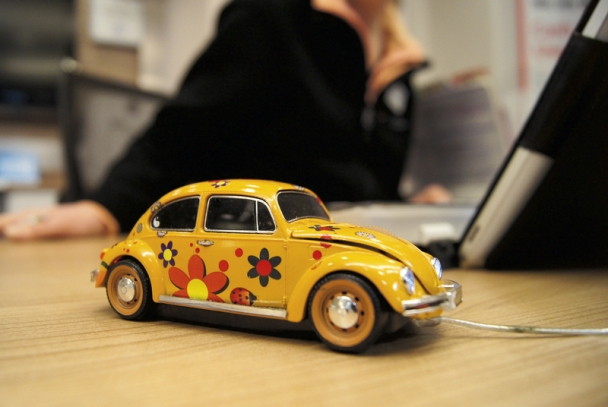 VW Beetle mouse
