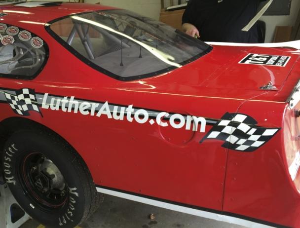 Nick Beaver Racing - the car