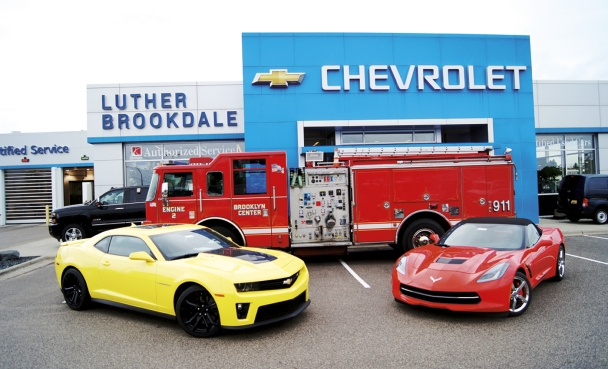 Brookdale Chevrolet and the Brooklyn Center Fire Department