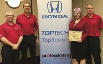 Hopkins Honda service advisor