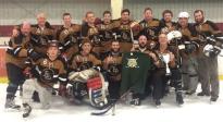 Luther hockey team