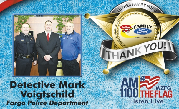 Family Ford ad campaign honors police