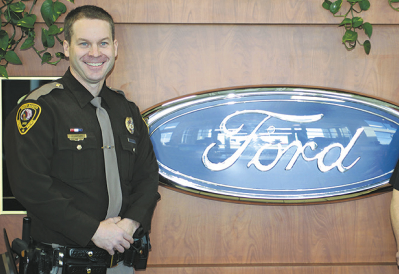 fargo ford store honors those who protect luther news. Black Bedroom Furniture Sets. Home Design Ideas